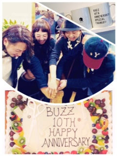 Buzz 10thAnniversary party!!