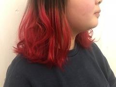 赤カラー!