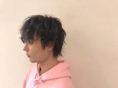 パーマ風メンズスタイル☆