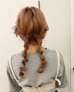 my hair arrange ♡